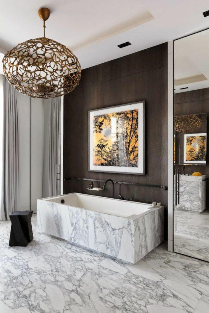1000 id es sur le th me lustre moderne sur pinterest chandeliers lampes de sol modernes et lampes for Lustre salle de bain moderne