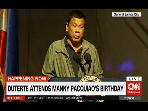 duterte Latest news December 18 2016 | President Duterte hits USA again - WATCH VIDEO HERE -> http://dutertenewstoday.com/duterte-latest-news-december-18-2016-president-duterte-hits-usa-again/   duterte Latest news December 18 2016 | President Duterte hits USA again in Manny Pacquiao's birthday ceremony Duterte Latest news December 17 2016 Durterte lates New December 17 2016 Balitang Today December 17 2016 TV Patrol December 17 2016 24 oras December 17 2016 President D