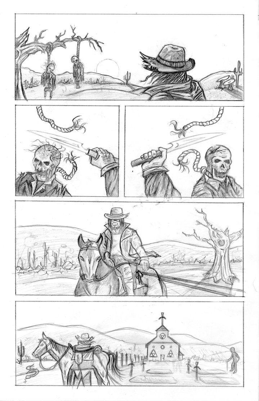 Chimpman-Z: Issue 1 - Page 1 Pencils by JesseGiffin on DeviantArt