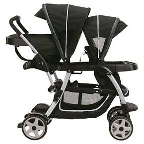 Graco Ready2Grow Click Connect Double Stroller