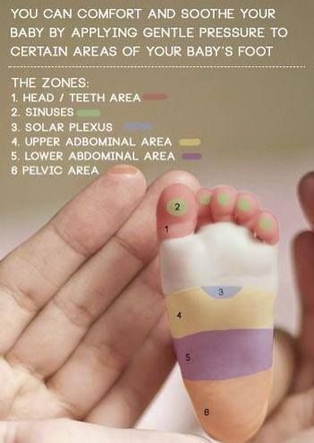 Baby foot massage. Natural way to calm and comfort your baby. Strengthens the immune system too! Healthier Babies!