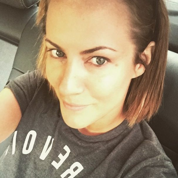 Caroline Flack did a little no-makeup Monday post on Instagram and revealed her flawless skin, which we're in awe of. With barely a blemish or line at aged 35, she could pass for 10 years younger. What a natural beauty.   - Cosmopolitan.co.uk