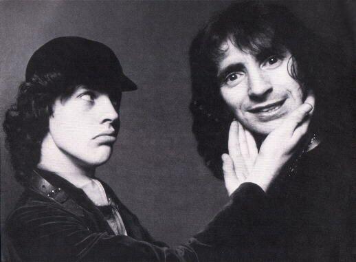 Angus Young & Bon Scott