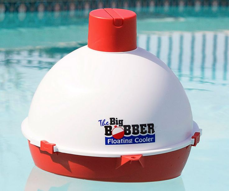 Big Bobber Floating Cooler Gives Your Pool Parties Some Needed Buoyancy -  #cooler #drinking #pool
