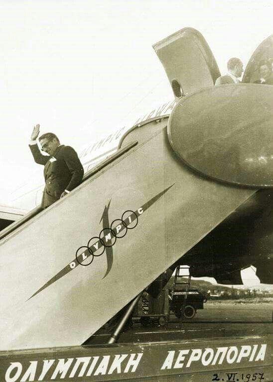 Onasis  Olympic airways Greece  19572007