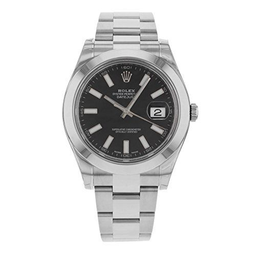 Listed Price: $6,595.00 Rolex Oyster Perpetual Datejust Ii Watches. 41mm Rolesor Case In Stainless Steel With Stainless Steel Smooth Bezel, Black Dial, Index Hour Markers, And Stainless Steel Oyste…