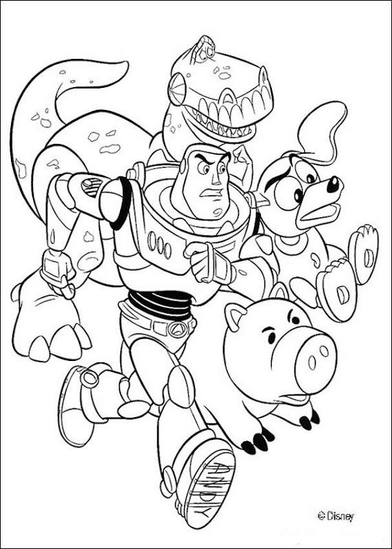 toy story coloring pages rexburg - photo#3