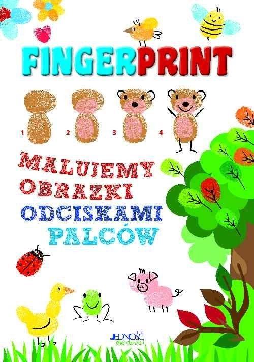Fingerprint. Malujemy obrazki odciskami palców. Zestaw do malowania Zanoncelli Anastasia Jedność.Księgarnia internetowa Czytam.pl