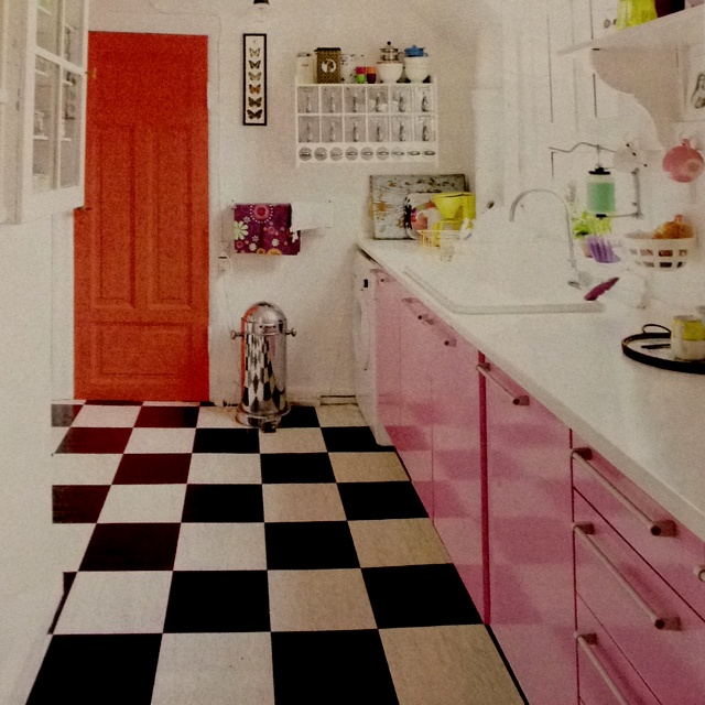 Kitchen from Danish Magazine Hendes Verden