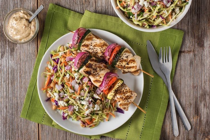 TOSS - Harissa Broccoli Cole Slaw - This crunchy spicy slaw is the perfect…