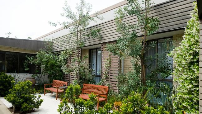 sensory garden for dementia patients at Scalabrini Village has been 13 months in the making.