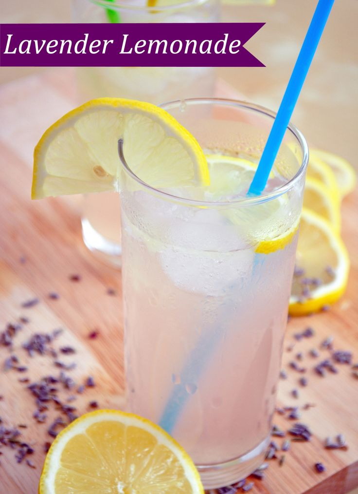 LAVENDER LEMONADE...Adding lavender gives your #lemonade a delicious ...