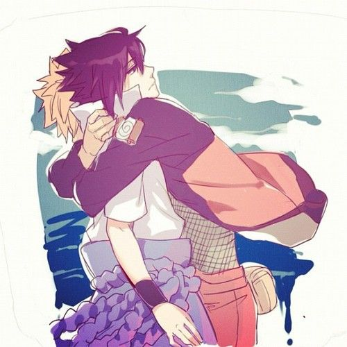 I really want Naruto to get through to Sasuke! Naruto is the only one who can save him from himself. NaruSasu <3
