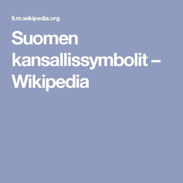 Suomen kansallissymbolit – Wikipedia