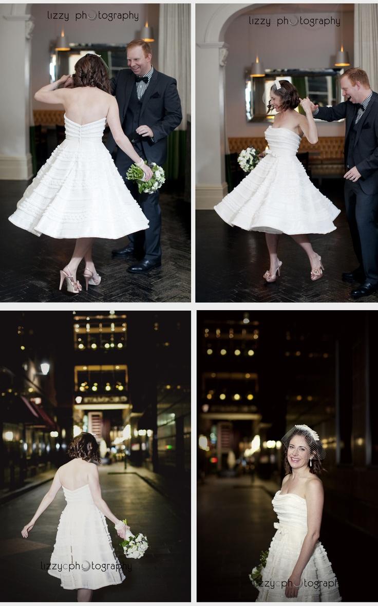 Carina and Damien's Stylishly Chic Comme Wedding.