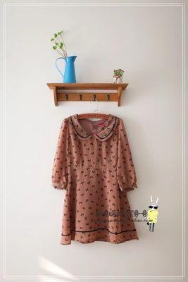 特价两件包邮2013暖暖家vivi杂志款腰带雪纺连衣裙日系Party girl-淘宝网