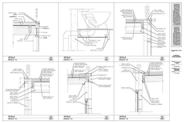 Imagen 9 de 21 de la galería de Detalles constructivos de la vivienda incremental de ELEMENTAL. Fotografía de ELEMENTAL