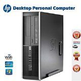 Refurbished Desktop computer PC – HP Compaq 8100 Elite Small Form Factor PC, Core i5-650 3.2GHz, 8GB RAM, 500GB Hard Drive, DVD Drive, Windows 7 Professional 64bit  by HP  Date first available at Amazon.ca: March 31 2016   1 used & new from CDN$ 289.99