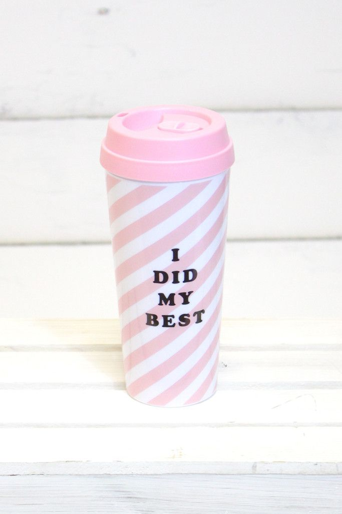 Hot Stuff Thermal Mug {I Did My Best} | ban.do – The Fair Lady Boutique