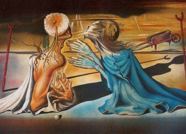 Salvador Dali (1904-1989), litho, Tristan & Isolde