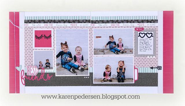 Karen Pedersen: May Play Group Scrappin' and Card Makin' Classes and Kits (Some Kinda Wonderful)