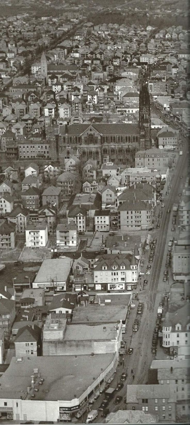 Old New Bedford, the Ave and St. Anthony's church