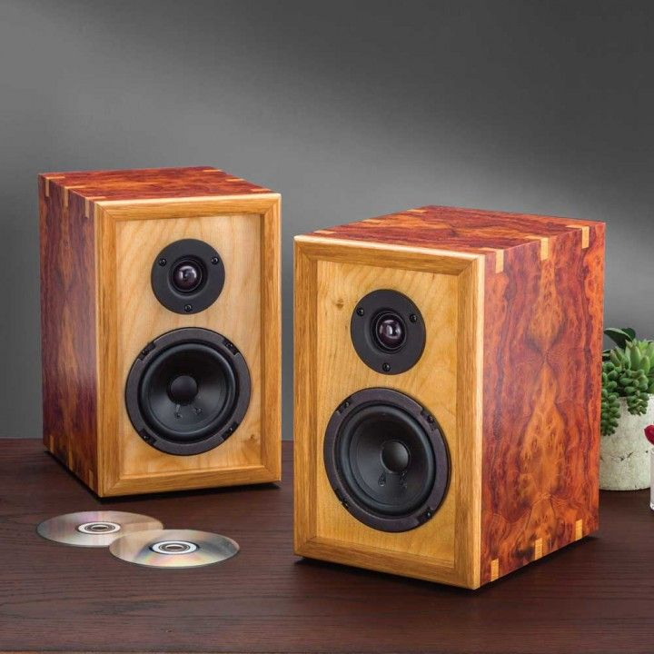 DIY Speaker Kit - Build your own custom speaker cabinets to blend in with your decor, or to stand out from the crowd!