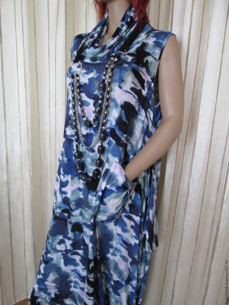Трикотажные платья большой размер купить