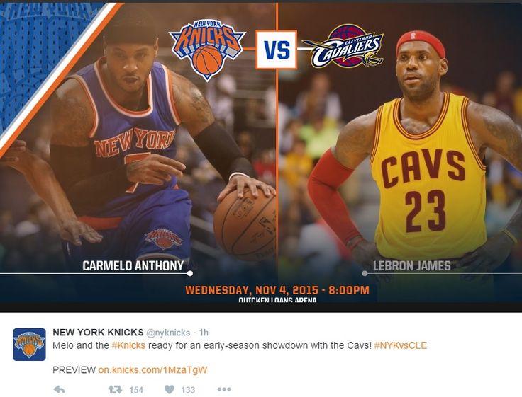 Cavaliers vs Knicks Live Scores, Updates And Reports #CavsKnicks - http://www.morningnewsusa.com/cavaliers-vs-knicks-live-scores-updates-and-reports-cavsknicks-2342480.html