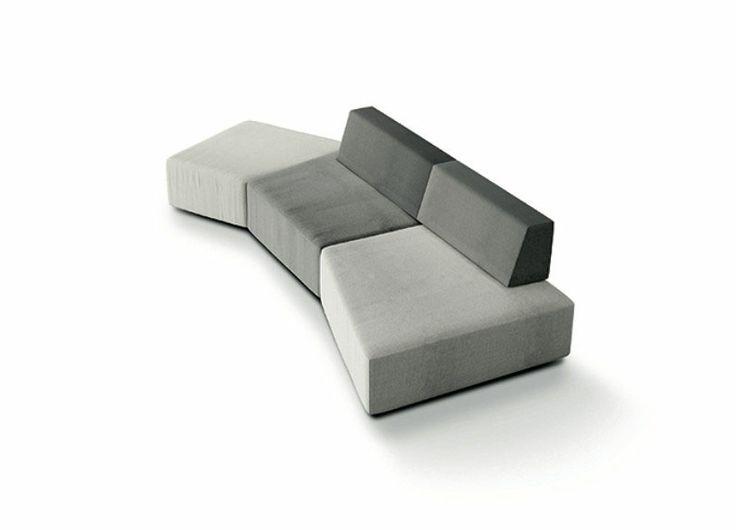 Three-seater sofas: Sofa Slide by Lago