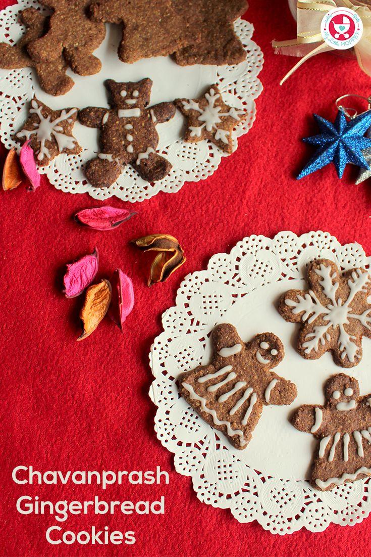 Chavanprash Gingerbread Cookies