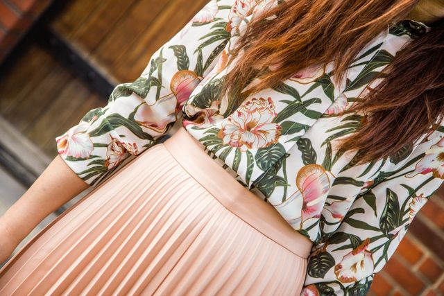 floral, flare, style, personal style, fashion