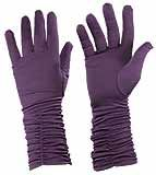 Purple Gloves with Gathered Edge - $17.85 at The Purple Store