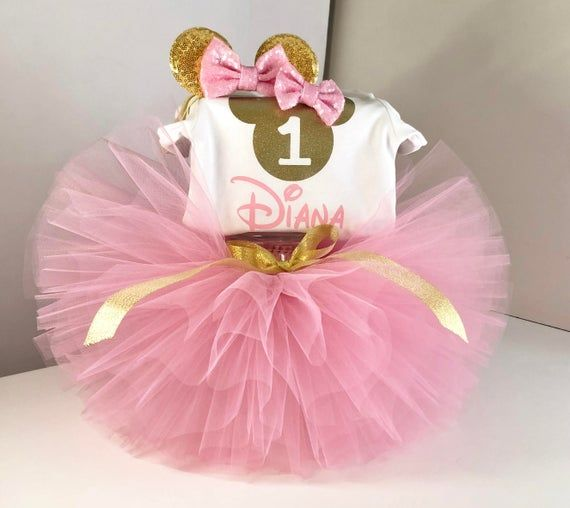 Minnie Mouse Geburtstag Outfit Minnie Mouse 1 Geburtstag Outfit