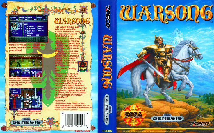 Jogue Warsong Mega Drive Sega Genesis online grátis em Games-Free.co: os melhores Mega Drive, SNES e NES jogos emulados no navegador de graça. Não precisa instalar ou baixar.
