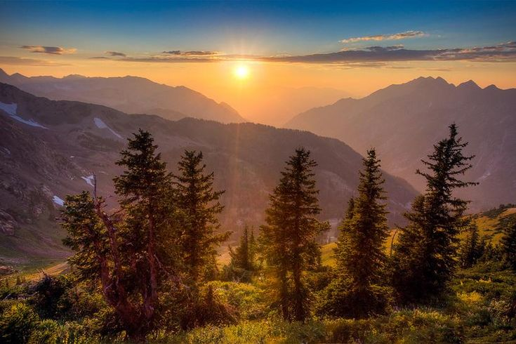 Mountain Top at Snowbird. Photo by Paul D. - Pixdaus  A new day is dawning!