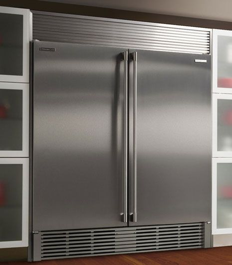 "Our Electrolux ""all refrigeration"" and ""all freezer"" were delivered last week. Now to move some walls to make them fit!!"