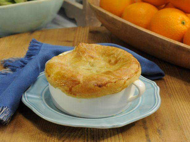 Katie Lee's Chicken Pot Pie : Katie keeps it traditional in her 5-star recipe, with tender chunks of chicken, a creamy vegetable sauce and a blanket of golden pastry on top.