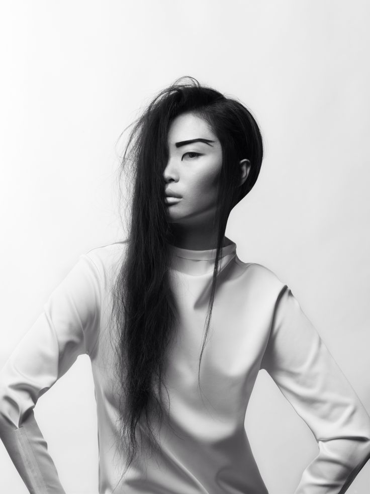 Asian Black And White 19