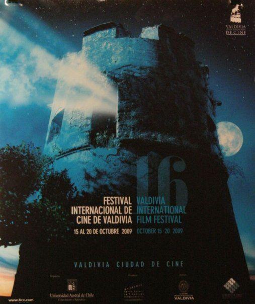 Afiche.16º Festival de Cine. Valdivia, Chile. 2009 on Behance