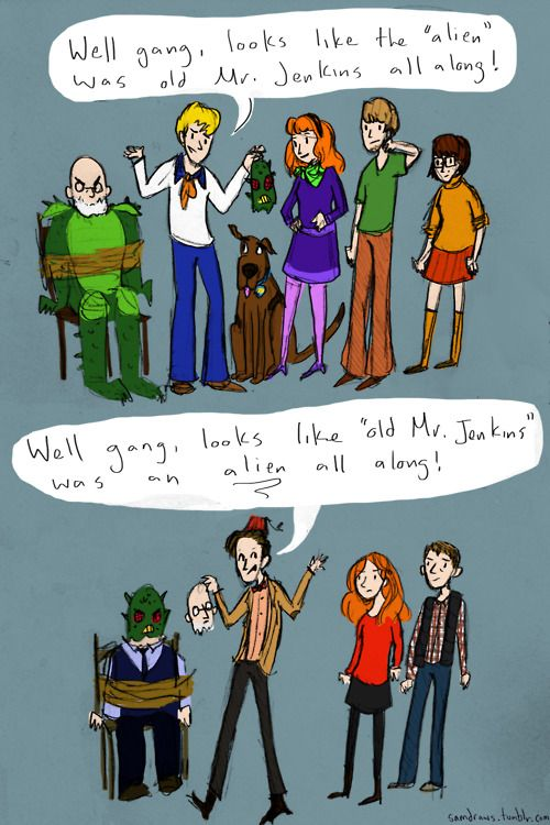 Scooby Doo vs Dr Who: Geeky, Difference, Whovian, Doctorwho, Funny, Doctors Who, Dr. Who, Scooby Doo, Scoobydoo