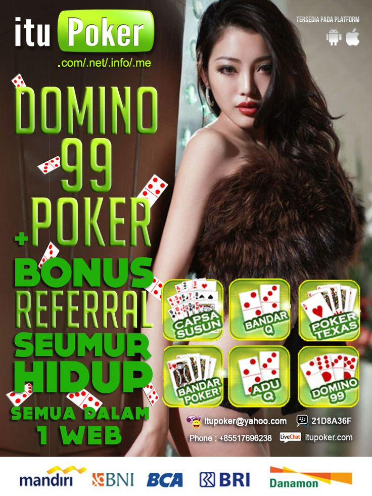 Bandar BandarQ ituPoker ===================== www.ituPoker.net Agen BandarQ Domino99 Judi Capsa Susun AduQ Main Jadi Bandar Poker