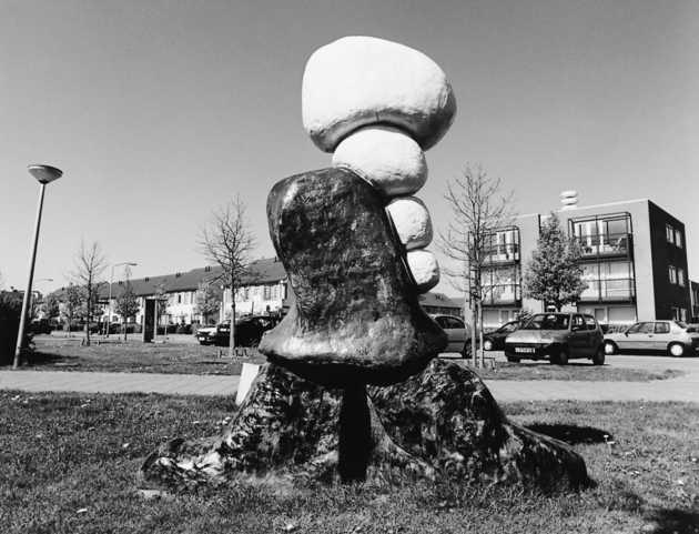 Ad Swinkels, zonder titel (1994), Faunabuurt, Almere Buiten. © Witho Worms, Museum De Paviljoens