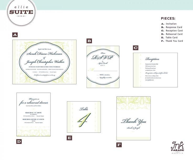 best 25+ wedding invitation size ideas on pinterest | wedding, Wedding invitations