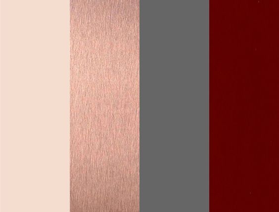 Color That Compliment Rose Gold Weddingbee Maroon