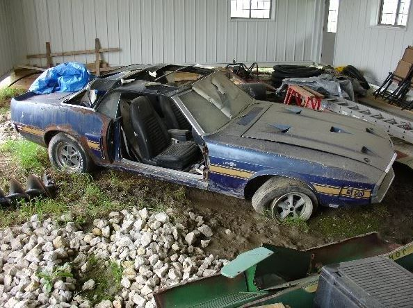 69 Gt 500 Barn Find Mustang Finds Rusty Pinterest Cars Abandoned Caruscle