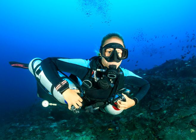 Your First Technical Diving Course via @scubadiverlife