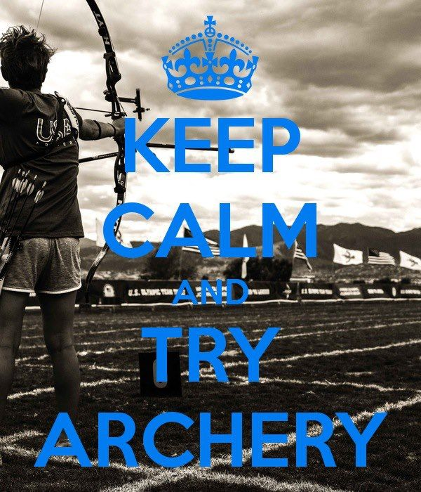 I have always wanted to learn archery and be very skilled at it.