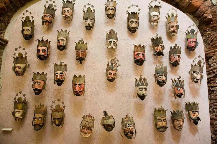 #Museo de las #máscaras #Rafael Coronel.