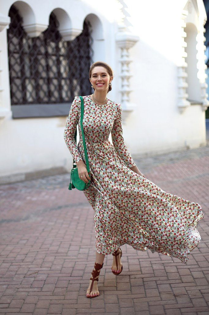 Summer Long Dresses With Sleeves